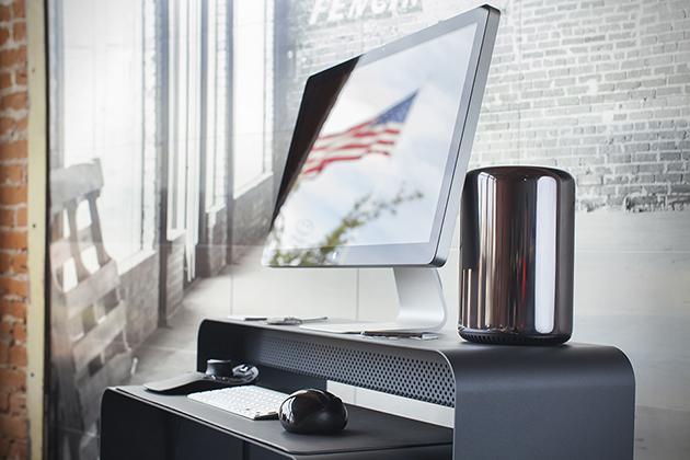 slim computer desk